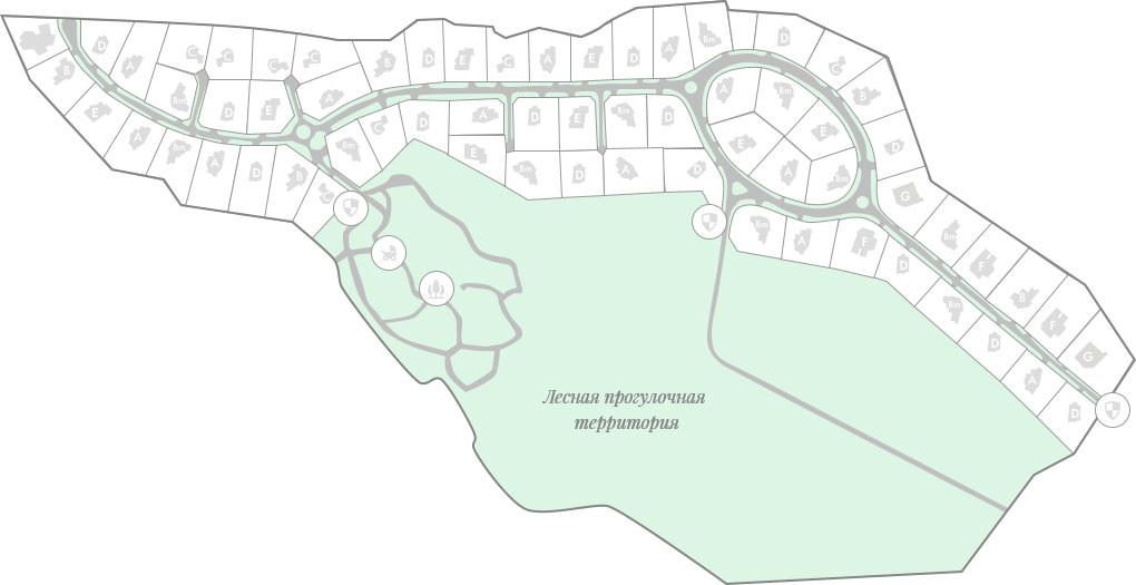 Генплан поселка Барвиха-21