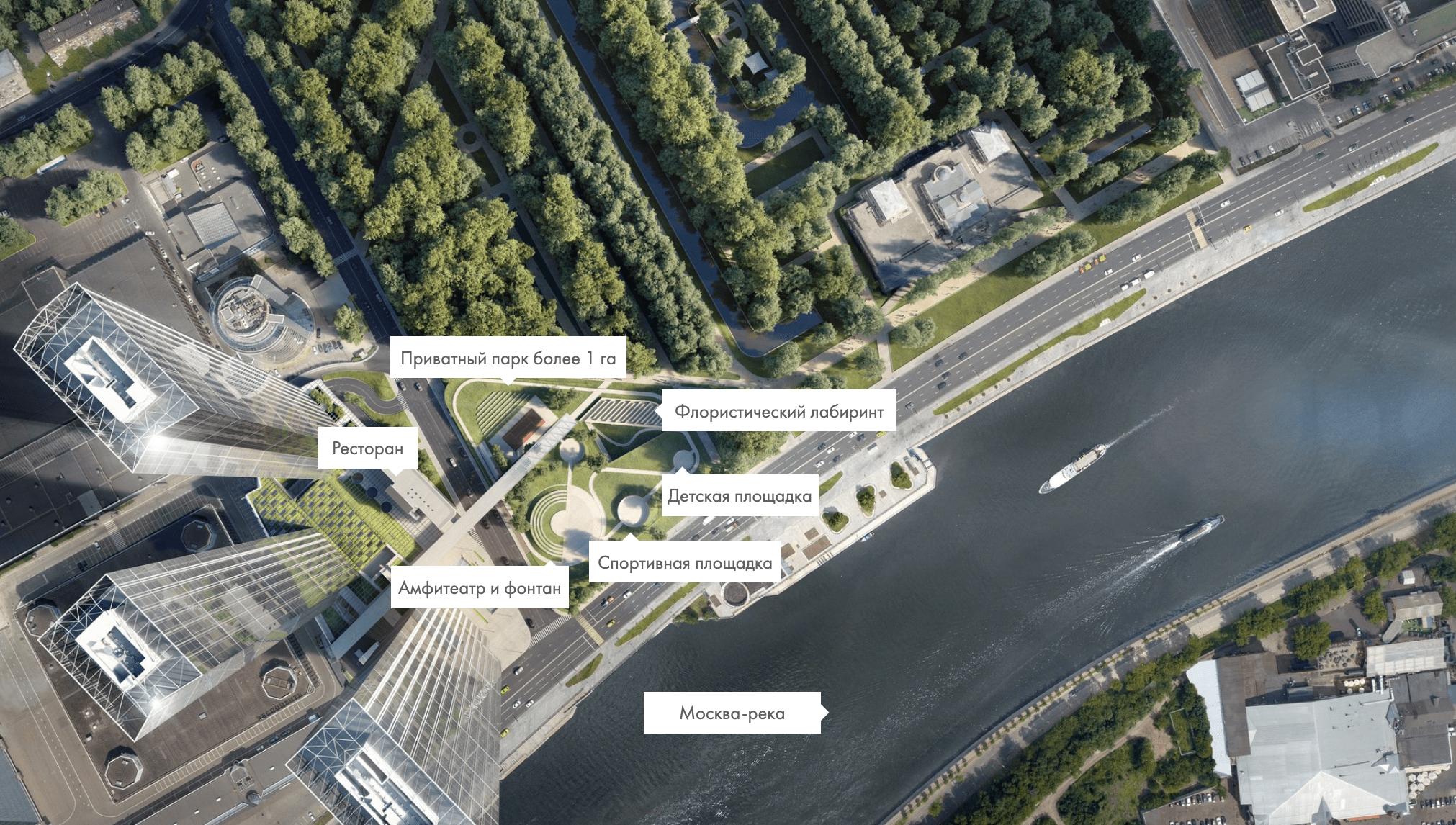Генплан ЖК Capital Towers